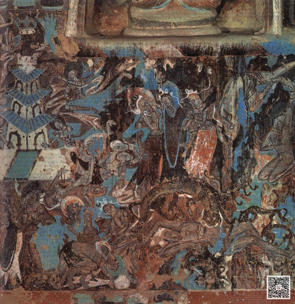 敦煌系列壁画鉴赏_佛教壁画之美