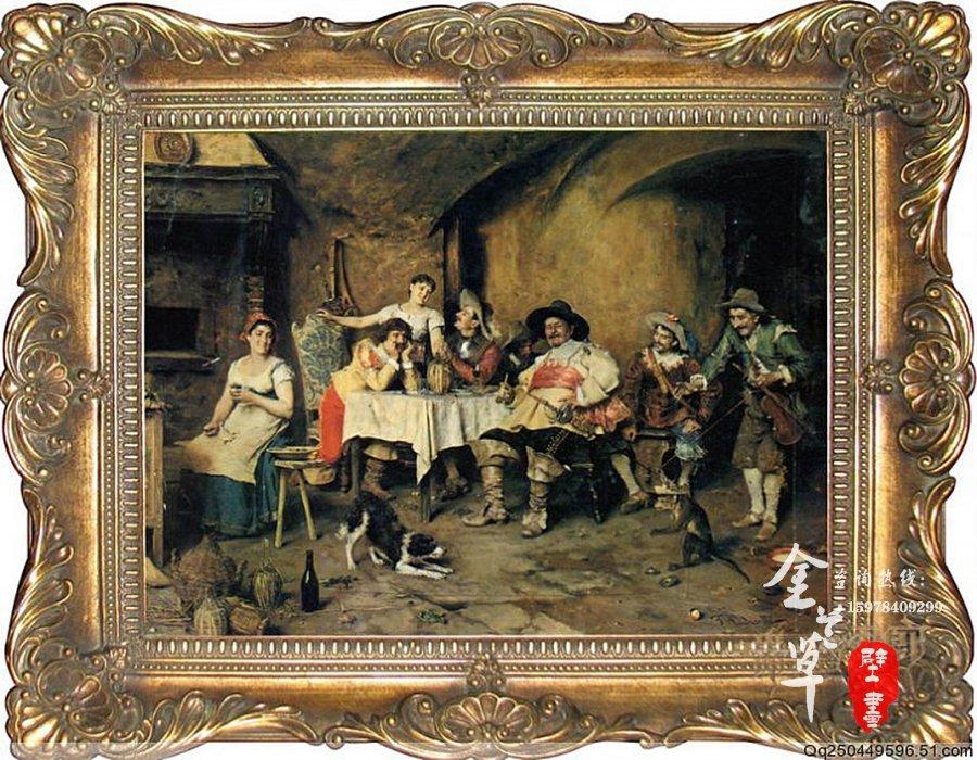 郑州别墅装饰油画
