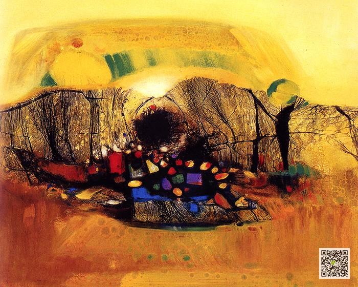 最美抽象油画