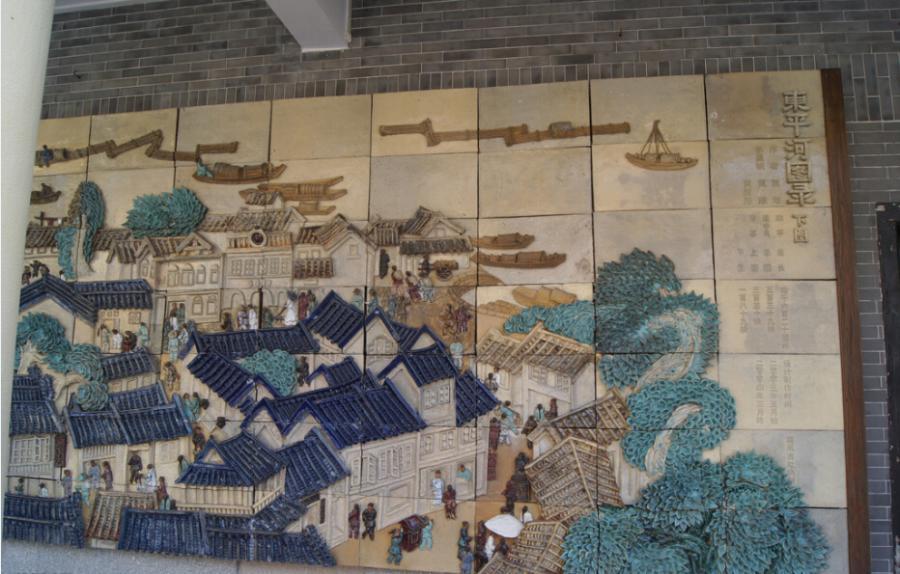 如酒店大堂陶瓷壁画,火车站陶瓷壁画,地铁站陶瓷壁画,飞机场陶瓷壁画